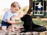 Le prince George fait son premier faux pas