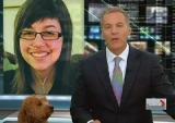 Canada -  Un chien perturbe le Journal Télévisé...