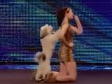 Ashleigh et Pudsey, un incroyable duo de danseurs