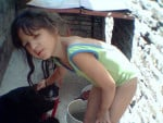 Chien mi primera perra y yo de chiquita - Berger Belge Malinois Femelle (9 ans)