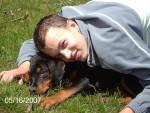 Chien CRONOS ROTT X BAS ROUGE - Beauceron  (0 mois)