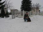 Chien Sarah and my grandad RIP Sarah - Rottweiler Femelle (9 ans)