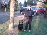 Chien sim de la colline aux chiens - Rottweiler Femelle (8 ans)